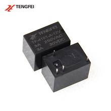4101信號繼電器12V微型繼電器小型3A常開型HK4101F-DC12V廠家現貨圖片