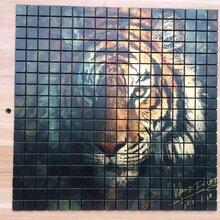 安阳明欣马赛克工厂金属马赛克拼图、UV打印无缝马赛克马赛克拼图背景墙图片