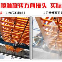 建筑工地塔吊喷淋降尘除尘杭州塔吊喷淋降尘系统厂家全国直销图片