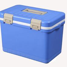 12升疫苗冷藏箱血液冷藏箱图片