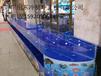順德海鮮池定做公司設計玻璃海鮮池廠家順德定做海鮮魚池哪里有