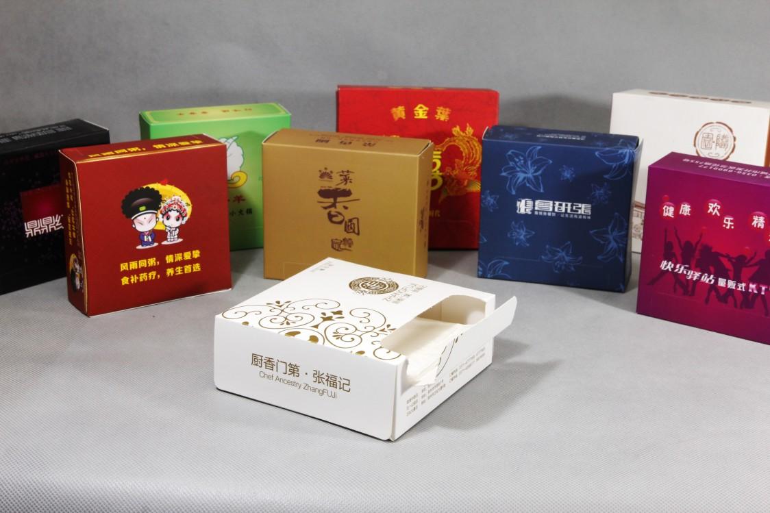 抽纸盒纸巾定制广告纸抽100%纯木浆广告抽纸盒订制