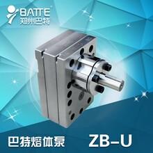郑州巴特热熔胶熔体泵熔体计量泵