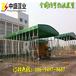 杭州推拉雨棚-固定厂房帐篷-大型工地伸缩雨蓬-价格实惠