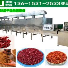 辣椒碎干燥杀菌设备调味品杀菌设备图片