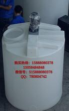 港城滚塑4000LPE塑料搅拌桶化工加药箱硫酸储罐立式水箱可配电机