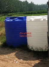 5立方大型搅拌桶圆柱带加强筋搅拌桶5吨塑料搅拌罐加药箱