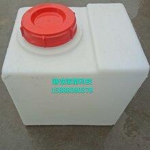 連云港滾塑容器廠家生產80升方形圓形加藥箱塑料水箱