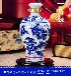 景德镇1斤青花陶瓷酒瓶、存酒密封酒瓶批发、不走香渗漏五斤酒瓶