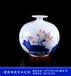 陶瓷茶葉罐廠家、景德鎮青花粉彩密封罐、定做批發陶瓷罐子