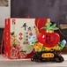 景德鎮陶瓷酒瓶、3斤蘋果禮盒裝酒瓶、創意擺件酒壇