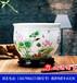 景德鎮陶瓷大缸報價、粉彩荷花陶瓷水缸、手繪大缸