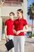 衫定制純棉工作服diy短袖翻領刺繡印logo定做廣告文化衫