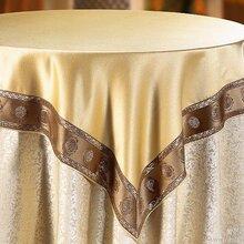 定做酒店餐厅台布桌布