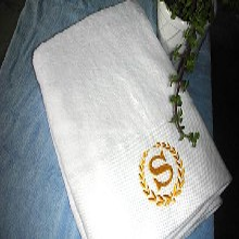 纯棉白色毛巾浴巾床单被罩