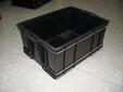 分隔周转箱蓝色塑料箱快递分拣塑料箱生产厂家批发零售