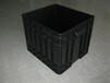 黑色防静电5mm中空板周转箱高强度耐腐蚀塑料周转箱苏州生产厂家常年供应