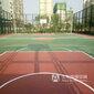 天津硅pu塑胶塑胶篮球场施工网球场地面铺装厂家批发供应图片