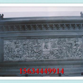 景观石墙图片山东产的雕龙石头墙价格