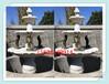 黃銹石噴水魚加工廠花崗巖噴泉水池圖片噴水石雕價格