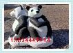 景觀動物石雕定制石頭熊貓雕刻石雕兔子價格石雕白鶴圖片