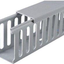 专业提供PVC线槽高级阻燃线槽30251.1mm配电柜线槽200米/箱