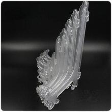 热卖透明相框折叠支架托架陶瓷装饰盘架普洱茶饼架子展示托架