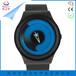 不锈钢表带进口机芯新概念表学生漩涡手表无指针手表