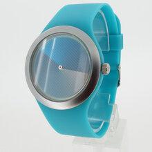 时尚硅胶漩涡礼品手表超强夜光环保硅胶儿童手表防水硅胶表