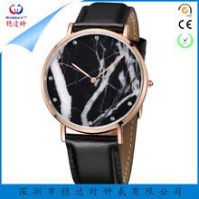 天然大理石手表不锈钢石英手表超薄手表商务手表