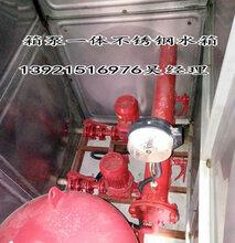 无锡吉盛100吨左右304不锈钢消防水箱生产