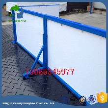 户外滑冰场专用围栏板聚乙烯溜冰场围挡可拆卸
