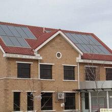 屋顶花园式太阳能热水系统,你见过吗?