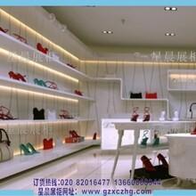鞋店装饰装修效果图定制烤漆鞋柜