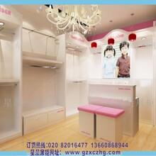 童装展柜设计定制烤漆展柜效果图童装店装修