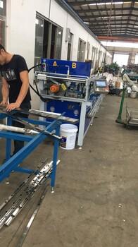 江苏客户使用现场,德川机械数控冲孔机切割机高效,快速,厂家直销
