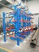北京悬臂货架板材用货架厂自动升降悬臂货架伸缩式货架价格板材用货架多少钱