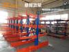 伸缩式摇臂货架板材专用存放架可自动升降货架铝型材架子定做价格