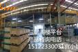 二层阁楼货架钢结构平台长春汽配企业使用物流平台