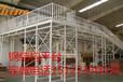 三层阁楼平台货架平台组合辽宁钢结构平台