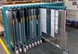 北京房山板材存放架板材加工中心倉儲抽屜式貨架尺寸重型貨架