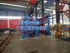 廣東茂名伸縮懸臂式貨架廠家12米鋼管存放架伸縮式管材貨架