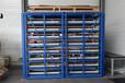 安徽合肥板材货架板材库专用激光切割货架抽屉式钢板货架抽拉货架