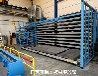 重庆渝中钢板存放架子抽屉式板材货架厂家切割机配套板材架