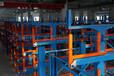 福建泉州吊车配套货架伸缩悬臂?#20132;?#26550;放钢材的架子