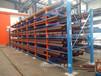 安徽合肥伸缩悬臂货架放棒材的货架存取机械化减少人工