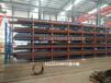 河北唐山鋼管貨架伸縮懸臂貨架尺寸表專業行車配套貨架