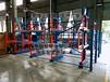 安徽马鞍山重型伸缩式悬臂货架案例放钢管的货架管材货架
