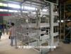江西南昌伸縮式懸臂貨架案例鋼材專業存放架雙懸臂貨架價格