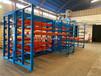 湖南常德鋼板貨架不銹鋼板存儲架抽屜式板材貨架案例